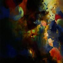 艺术抽象油画