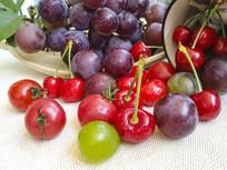 葡萄水果拍摄