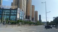 清镇红枫北路高楼群