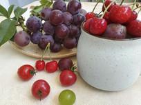 水果葡萄樱桃