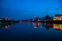 海南城市夜色
