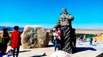 诗人王维雕像