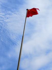 五星红旗迎风展