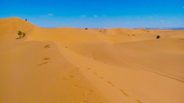 一望无边的沙漠