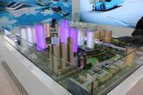 高层建筑模拟实景