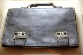 抗战时期邵式平的皮包