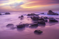 海边的礁石