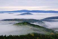 山林云雾风景