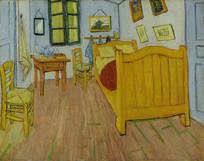 文森特梵高油画 阿尔勒的卧室