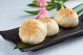 香煎香菇菜肉包子