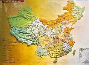 中国酒文化香型分布立体图