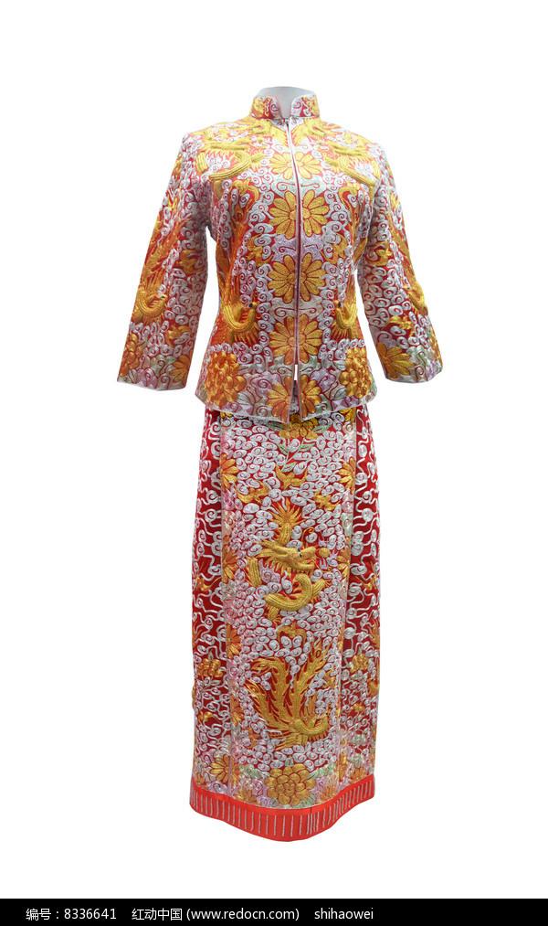 定州京绣礼服图片