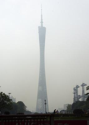 高大的广州塔