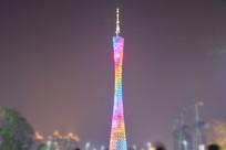 广州塔的夜景