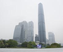 广州西塔高清摄影图