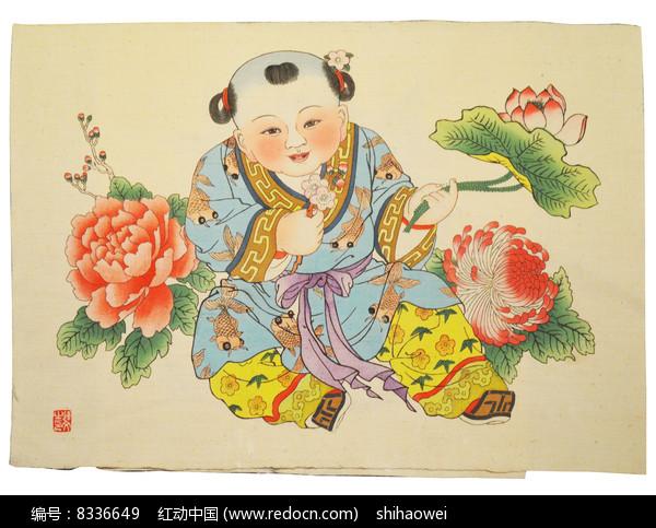 魏县花布染织图片