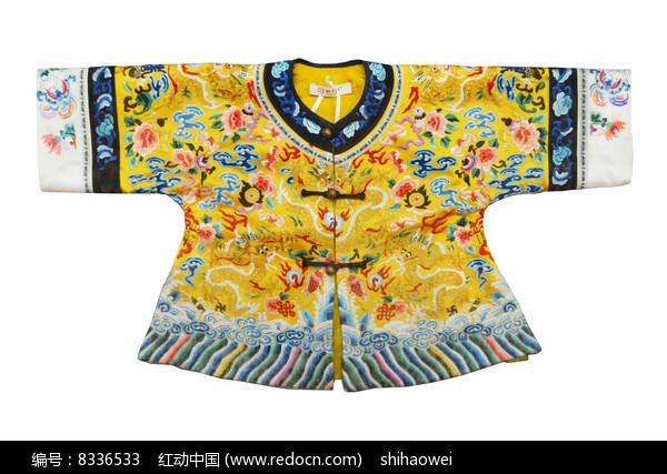 易县清宫传刺绣小龙袍图片