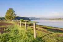 额尔古纳河的早晨