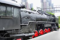 古董火蒸汽机车