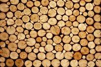 木头截面外墙
