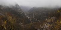 雨后太行山峡谷春色