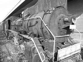 老式火车头