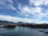 三亚海岛潜水区