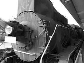 蒸汽火车头前脸