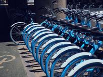 街头共享单车