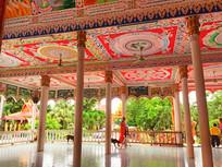 老挝万象寺庙