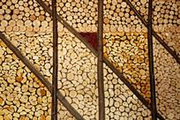 木头墙壁装饰