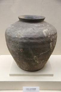 东周米字双系硬陶罐