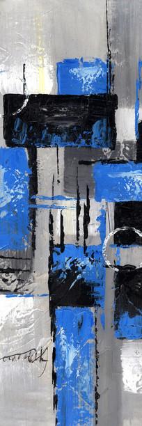 抽象油画 极简风格无框画