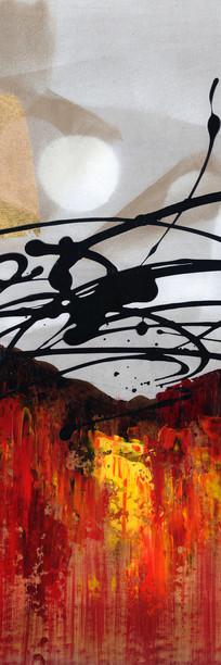 抽象油画 现代 简约