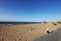 沙滩碧海蓝天