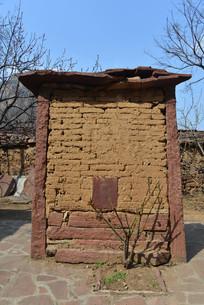 太行山里村庄人家影壁墙