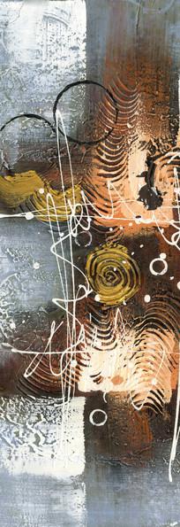 现代 冰晶画 抽象 印花