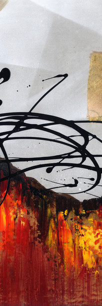现代简约风格抽象油画