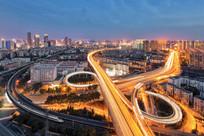 郑州城市风光之沙口路立交桥