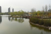 城市休闲风景一角