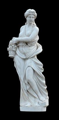 希腊四季女神之春神厄阿耳雕塑