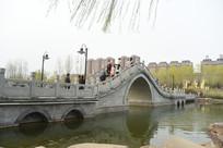 石拱桥风景