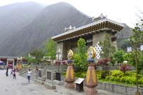 阿坝甘堡藏寨