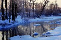 冰河雪包朝阳