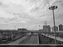 高架交通路