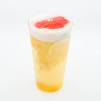 蜜柚柠檬水果茶