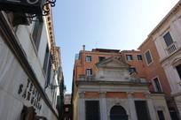 威尼斯古老建筑