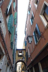 威尼斯建筑廊桥