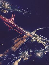 俯瞰南昌八一大桥