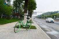 交通干道与共享单车